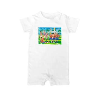 tamtamlandの壁はきっと、取り外せる。 Baby rompers