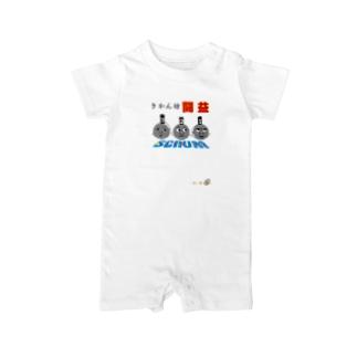 ラグビー闘益1 Baby rompers