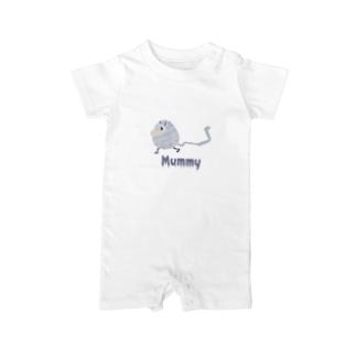 ぐるぐるミイラ Mummy Baby rompers