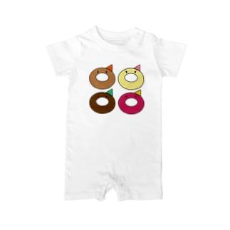 Okamoto Donut Factory Baby rompers