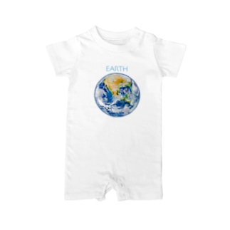 EARTH Baby Rompers