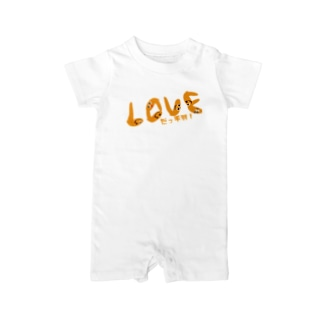 LOVEだっ手羽 Baby rompers