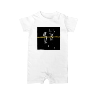 KEEP OUT - simple ver - Baby rompers