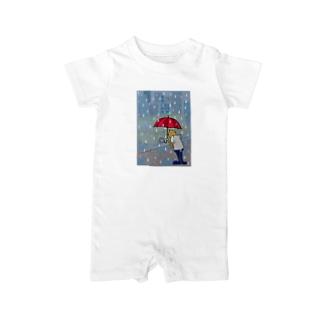 Rainy day 2. Baby rompers