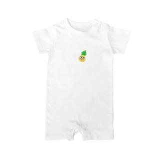 パイナップルンルン Baby rompers