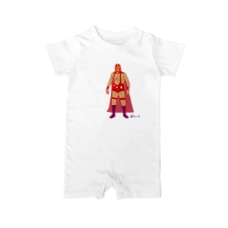 Red Rucha Baby rompers