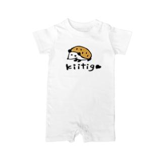 kiitigoさんのハリネズミ Baby rompers