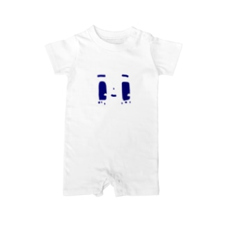 blue Baby rompers