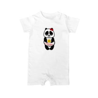 パンダちゃん Baby rompers