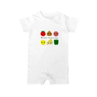We want to be pizza. Baby rompers