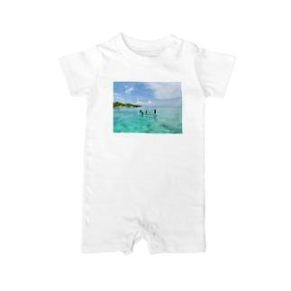 幸せな島 カオガハン島 Baby rompers