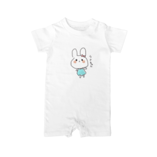 Sae_39921のうさちゃん Baby rompers