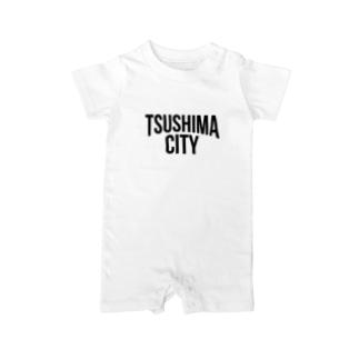 TSUSHIMA CITY Baby rompers