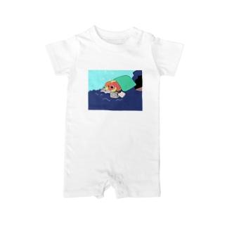ごろごろし鯛(たい)01(完全版)-ごろ鯛(たい) Baby Rompers