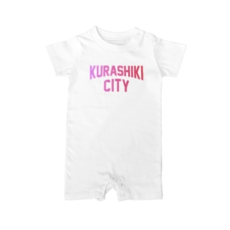 JIMOTO Wear Local Japanの倉敷市 KURASHIKI CITY Baby rompers