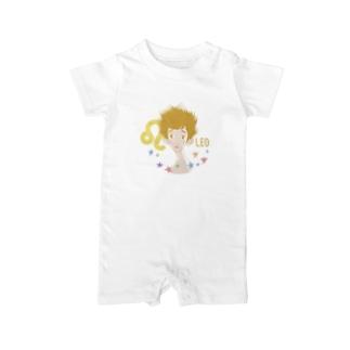 【星座シリーズ】獅子座LEO Baby rompers