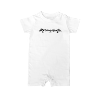 Pathological Liar(BLACK) Baby rompers