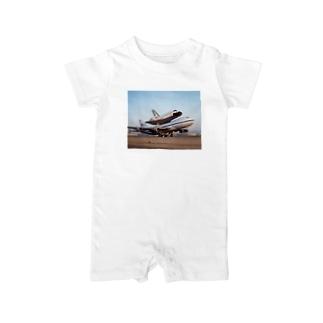 スペースシャトル&ボーイング747改 Baby rompers