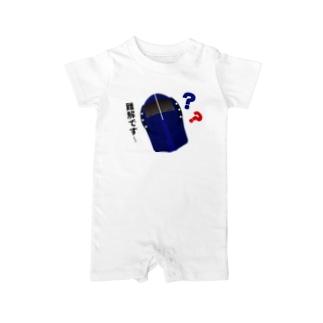 南海難解ラピート Baby rompers