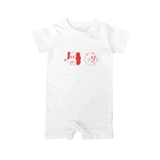uhei art works.のLIFE ALL VACATION CLUB Baby rompers