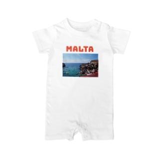 Malta Baby rompers