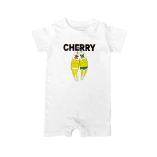 CHERRY Baby rompers