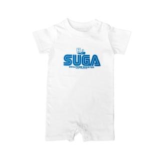 菅首相 内閣総理大臣 SUGA Baby rompers