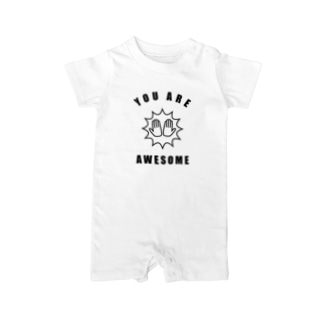 You Are Awesome Baby rompers