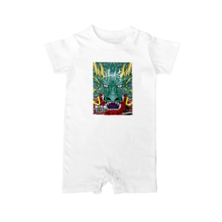 ZOX Official Storeの【昇侍】RISING DRAGON Baby rompers