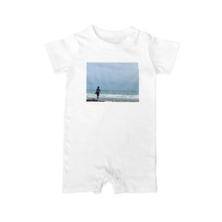 サーファーTシャツ Baby rompers