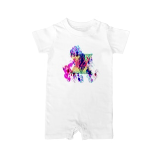 triangleFLOWER Baby rompers
