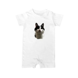 猫でかロンパース Baby rompers