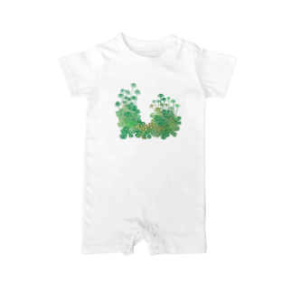 Cafe de Foretのゼニゴケ Baby rompers