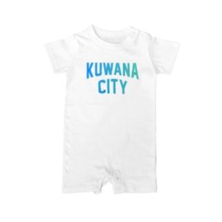 桑名市 KUWANA CITY Baby rompers