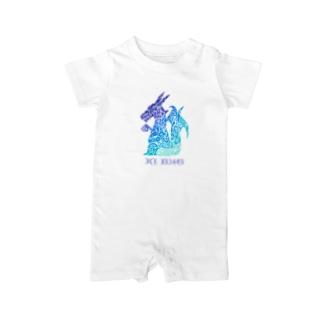 ドラゴン/アイス Baby rompers