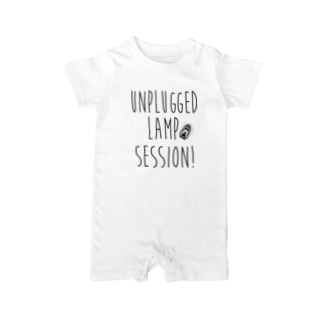 Unplugged Lamp Session type logo Baby rompers