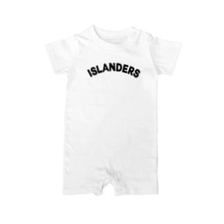 ISLANDERS Baby rompers