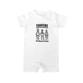 FIGHTERS Baby rompers