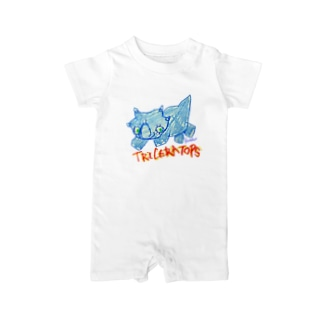 Triceratops Baby rompers