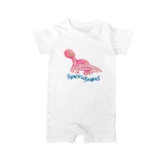 Brachiosaurus Baby rompers