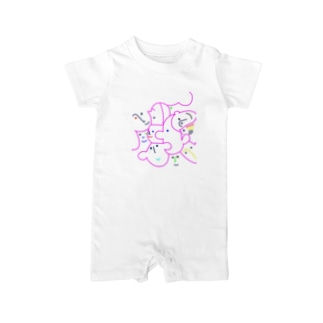 friends(colorful line) Baby rompers