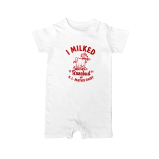 MATHIS DAIRY Baby rompers