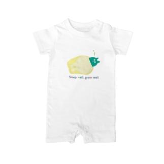 寝る子は育つ Baby rompers