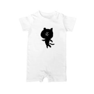 筆猫-fudeneko- Baby rompers