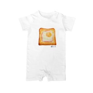 エッグトースト Baby rompers