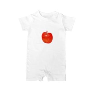 リンゴ Baby rompers
