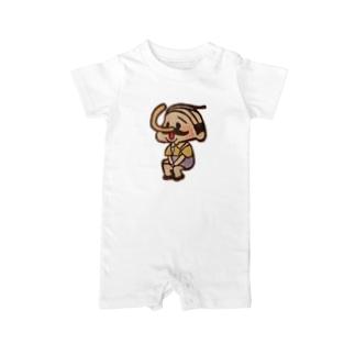 待機園長シリーズ(ピノキオ) Baby rompers
