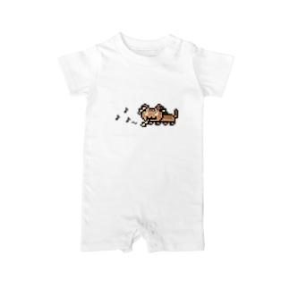 角笛猫2D-1 Baby rompers