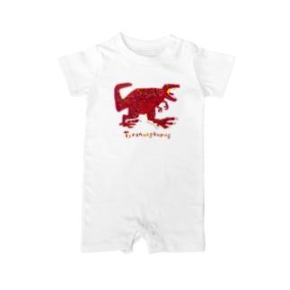 ティラノサウルス Baby rompers