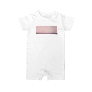 SUNSET PINK Baby rompers